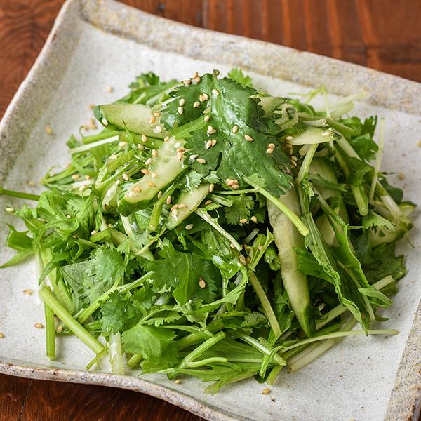 台湾風パクチーサラダ