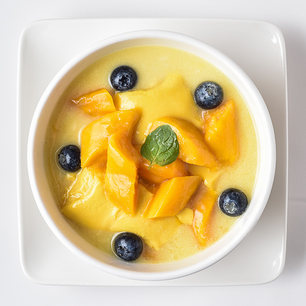 冬のマンゴー豆花