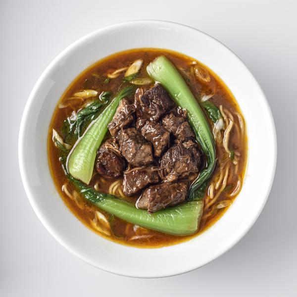 劉ママの牛肉麺