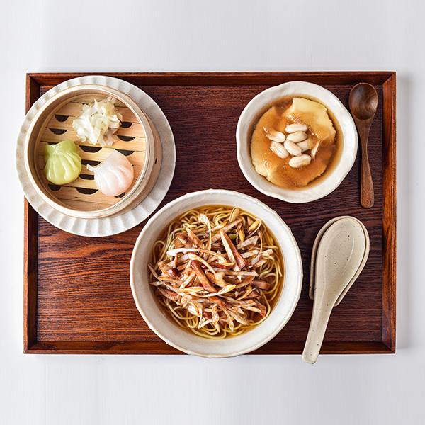 ねぎチャーシュー麺セット