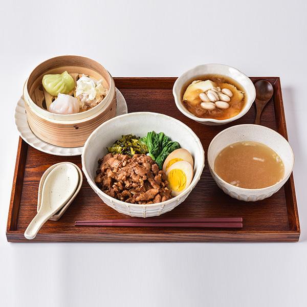 台北式ルーロー飯セット