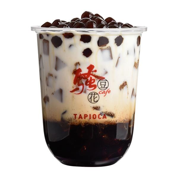 沖縄式黒糖タピオカミルク