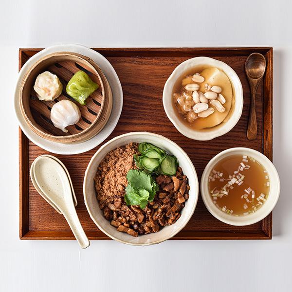 台南式ルーロー飯セット