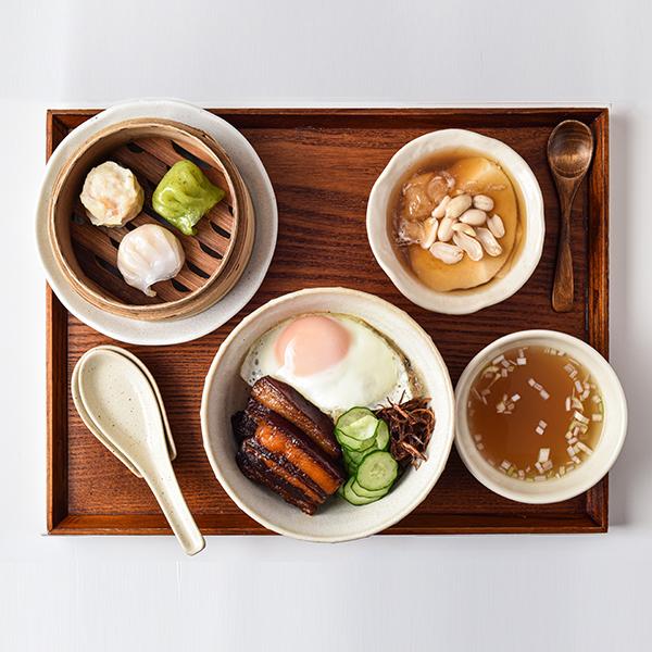 台湾角煮丼セット
