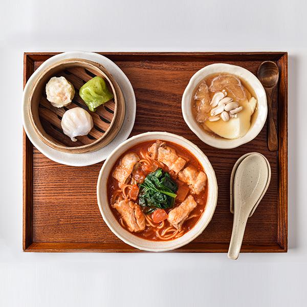 騒豆花トマト麺セット